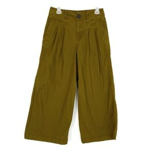 Madewell Pleated High Rise Wide-Leg Pants